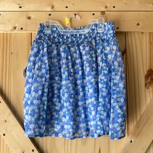 Old Navy Flirty Ruffle Floral Skirt NWT size Small
